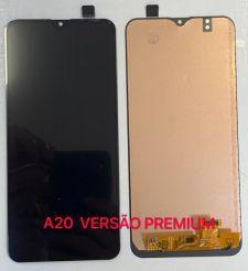 Frontal Sam A20 Core versão premium