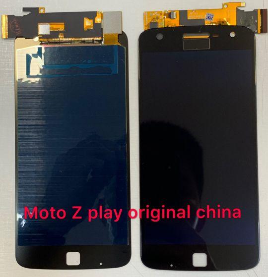 Frontal tela MT Moto Z play XT1635 original china