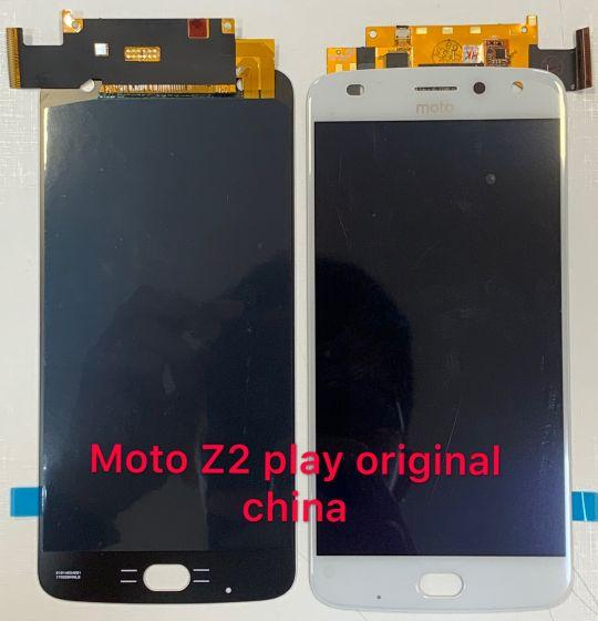 Frontal tela display Moto Z2 play XT1710 original china
