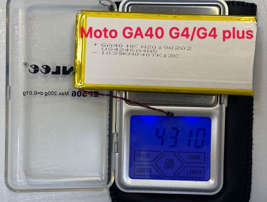 Bateria MOTO G4 /G4 PLUS GA40