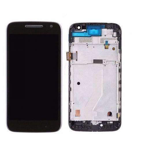Frontal Display LCD Touch para Moto G4 PLAY com aro original