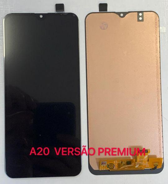 Frontal Sam A20 versão premium