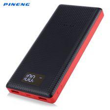 Original PINENG PN-969 de Carregamento Duplo USB 6000 mAh Portatil Power Bank Carregador de Bateria
