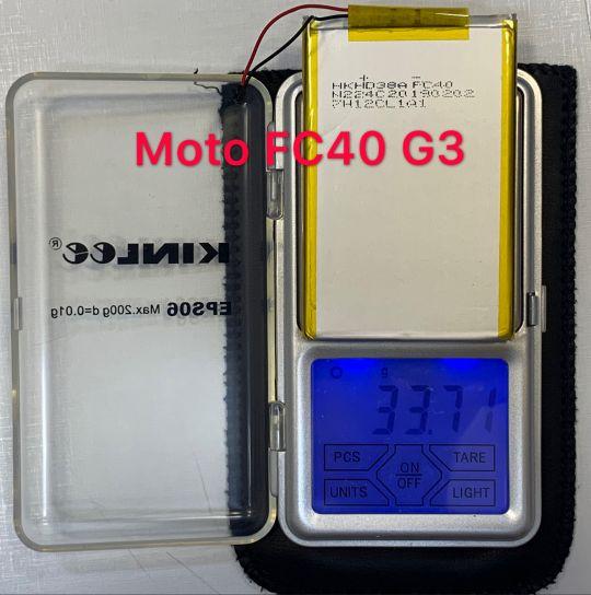 Bateria MOTO G3 FC40