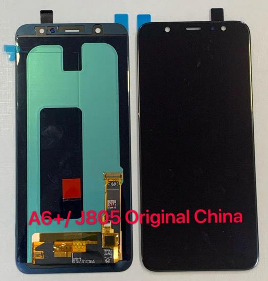 Frontal Tela Samsung A6 PLUS / A605  /J805 Original China